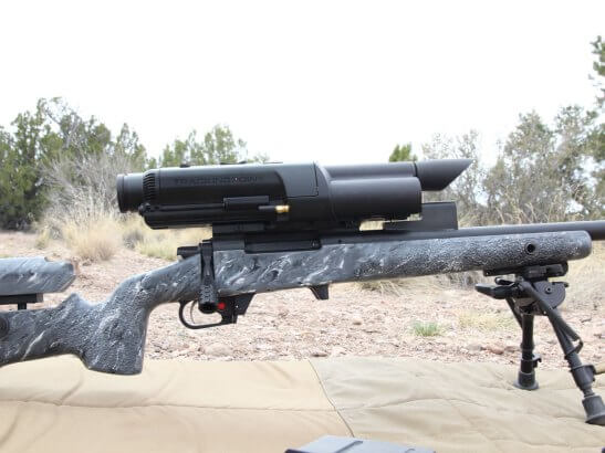 The Precision Guided Firearm is the most accurate shooting system in the world.
