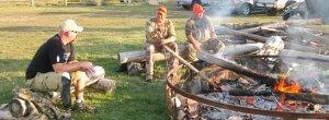 Disabled veteran hunters sharing experiences