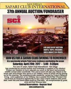 37th Annual SCI Auction/Fundraiser @ Private Residence in Point Loma