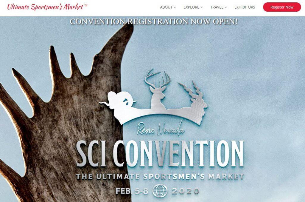 Renew Registration Online Ca >> San Diego Safari Club International – SCI Convention Registration NOW OPEN!