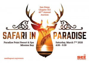 The San Diego Chapter of Safari Club International's 40th Annual Auction/Fundraiser! @ Paradise Point Resort and Spa